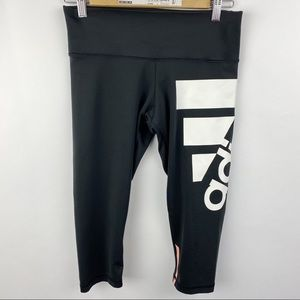 Adidas Tech Fit leggings cropped